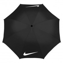 "Nike Golf 62"" Windproof Umbrella VII - Black/White"