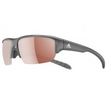 Adidas Eyewear Kumacross Halfrim Sunglasses - Shiny Black