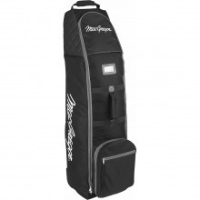 MacGregor Golf VIP Deluxe Wheeled Padded Travel Cover Flight Bag - Black/Grey