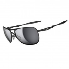 Oakley Sports Mens Crosshair Sunglasses - Matte Black/Black Iridium