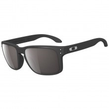 Oakley Sports Mens Holbrook Sunglasses - Matte Black/Warm Grey