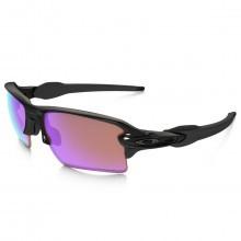 Oakley Sports Mens Flak 2.0 XL Sunglasses - Polished Black/Prizm Golf