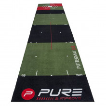 PURE Mens Pure 2 Improve Practice Training Aid Golf Putting Mat