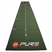 Pure2Improve 2021 PURE 2 Improve Indoor Training Aid Green Golf Putting Mat