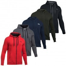 Under Armour 2017 Mens Rival Fitted Full Zip Hoodie