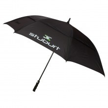 Stuburt Double Canopy Vented Golf Umbrella - Black
