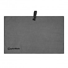 "TaylorMade Golf Microfiber Cart Towel 15"" x 24"" - Grey"