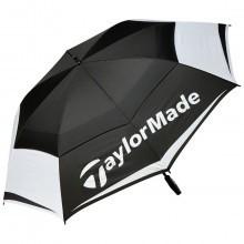 "TaylorMade Golf 2017 TM Tour Double Canopy 64"" Umbrella - Black/White/Grey"