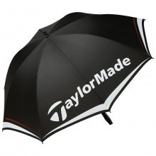 "TaylorMade Golf 2017 TM Single Canopy 60"" Umbrella - Black/White/Grey"
