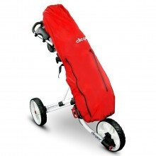 Clicgear Golf Trolley Cart Rain Cover - Red