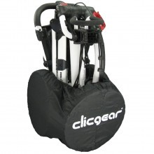Clicgear Golf Trolley Wheel Travel Cover - Black