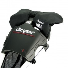 Clicgear Golf Trolley Mittens - Black