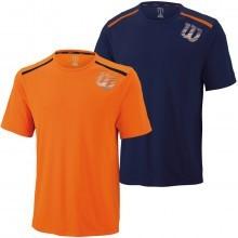 Wilson Mens Spring Linear Blur Print Crew Tee T Shirt