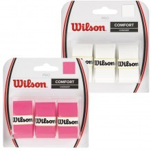 Wilson 2017 Pro Overgrip for Rackets 3 Pack Tennis Badminton Replacement WRZ4014