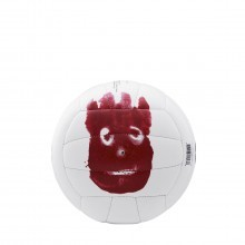Wilson Castaway 'Mr Wilson' Mini Volleyball - White - Mini Size