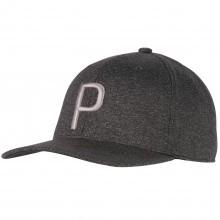 Puma Golf Mens 2018 P Dry-Cell Moisture Wicking Snapback Cap