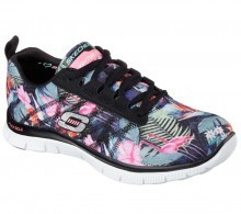 Skechers Womens Flex Appeal Floral Bloom Trainers