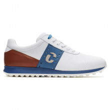 Duca Del Cosma Mens 2021 Belair Waterproof Leather Spikeless Golf Shoes
