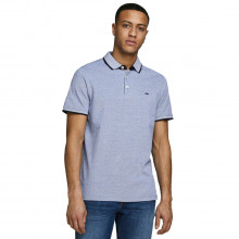 Jack & Jones Mens 2021 Classic Pique Knit Short Sleeve Cotton Polo Shirt