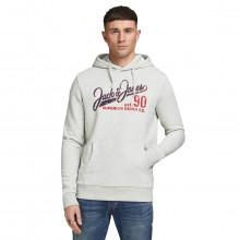 Jack & Jones Mens 2021 Logo Sweat Sweater Pullover Fleece Hoody