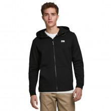 Jack & Jones Mens 2021 Zipped Through Adjustable Hood Full Zip Hoodie Hoody