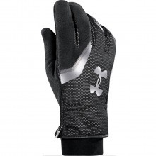 Under Armour Mens UA ColdGear Infrared Storm Extreme Run Gloves - Black