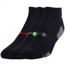 Under Armour Mens UA HeatGear No Show Sport Trainer Socks - 3 Pair Pack