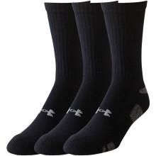 Under Armour 2017 Mens UA HeatGear 3 Pack Trainer Socks