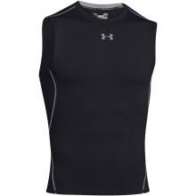 Under Armour Mens HeatGear Armour Compression Sleeveless T Shirt