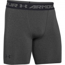 Under Armour Mens UA HeatGear Armour Mid Compression Shorts