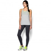 Under Armour Womens Charged Cotton All Over UA Logo Tank