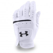 Under Armour 2017 Mens UA Strikeskin Tour Golf Glove - Left Hand - White