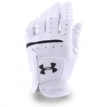 Under Armour 2017 Mens UA Strikeskin Tour Golf Glove - Left Hand - White