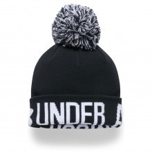 Under Armour Womens Graphic Pom Beanie