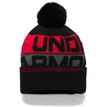 Under Armour 2017 Mens UA Golf Retro Pom Beanie 2.0