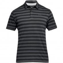 Under Armour Mens 2018 CC Scramble Stripe Golf Polo Shirt