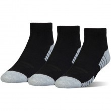 Under Armour Mens 2018 HeatGear Tech Low Cut Socks 3 Pack