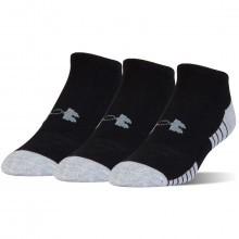 Under Armour Boys 2018 HeatGear Tech No Show Socks 3 Pack