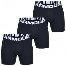 Under Armour Mens 2020 Charged Cotton 6In 3 Pack Soft Stretch Performance Boxers