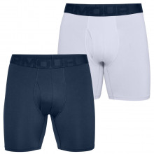 Under Armour Mens Tech Mesh 4-Way Stretch 6In 2 Pack Boxer Briefs