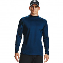 Under Armour Mens UA CGI Long Sleeve Golf Mock Fitted Baselayer