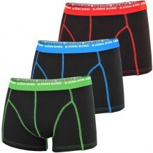 Bjorn Borg Mens BB Basic Seasonal 3-Pack Boxer Briefs