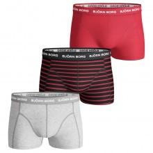 Bjorn Borg Mens BB Stripe 3-Pack Boxer Briefs