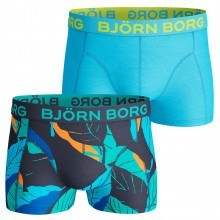 Bjorn Borg Mens BB Leaf Shorts Boxer Briefs 2 Pack