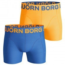 Bjorn Borg Mens Neon Solids Boxer Briefs 2 Pack