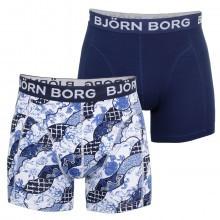 Bjorn Borg Mens Porcelain Shade 2-Pack Boxer Briefs