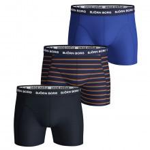 Bjorn Borg Mens 2019 French Stripe Boxer Shorts 3-Pack