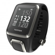 TomTom Golfer 2 GPS Golf Watch Loaded International Courses Distance Rangefinder