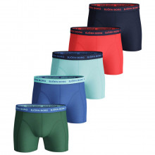 Bjorn Borg Mens 2021 Sammy Shorts Seasonal Solid 5 Pack Boxers
