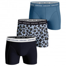 Bjorn Borg Mens 2021 Fourflower Sammy Comfort Stretch Boxer Briefs